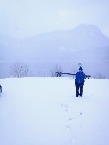lots of snow austria