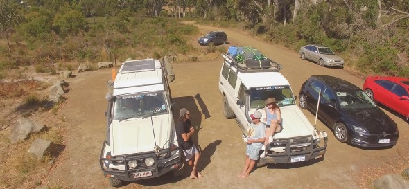 troopy on bruny island