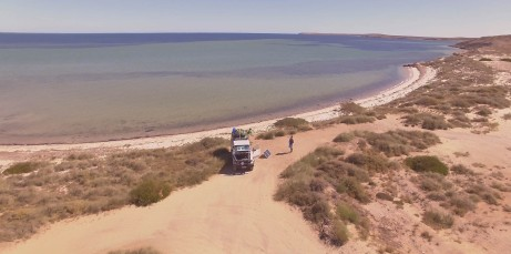 beach shark bay