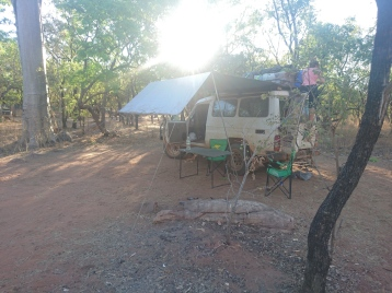 Camp site on the GIBB